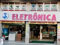 a Frente da Eletrônica Shopping Cascadura